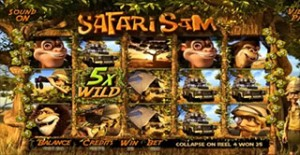 Safari Sam 3D Slot - Betsoft online casinos